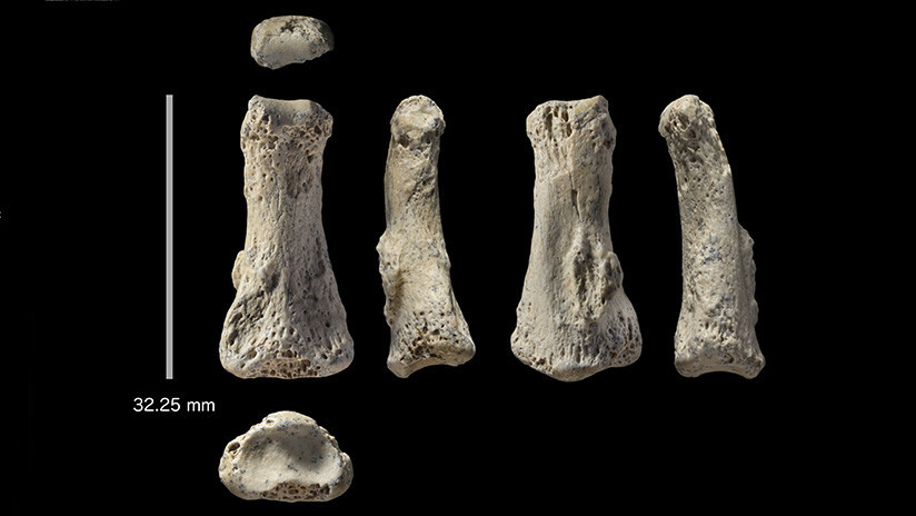 El hallazgo de un dedo de 85.000 años podría reescribir la historia de la especie humana
