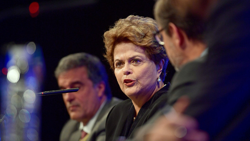"""Dilma Rousseff: """"Nuestro candidato sigue siendo Lula, es una cuestión de justicia"""""""