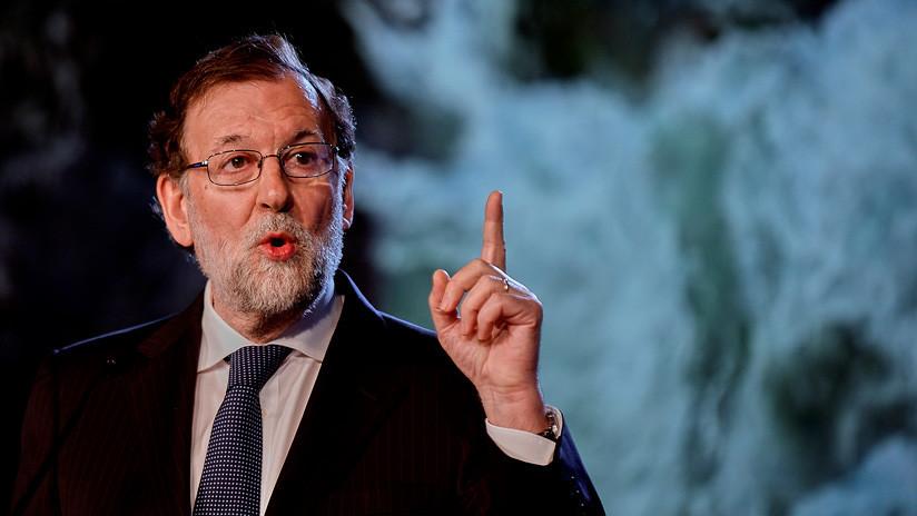 """Nivel taberna"": La improvisada 'clase magistral' de Rajoy sobre política internacional"