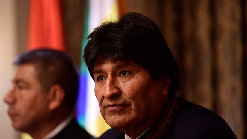"""Morales sobre posibles ataques de EE.UU. a Siria: """"Toda acción unilateral viola la Carta de la ONU"""""""