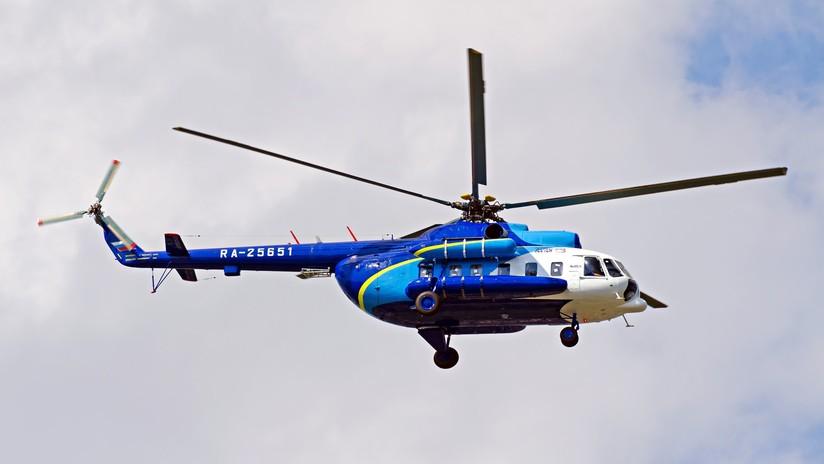 Seis personas mueren en el extremo Este de Rusia al estrellarse un helicóptero (VIDEO)