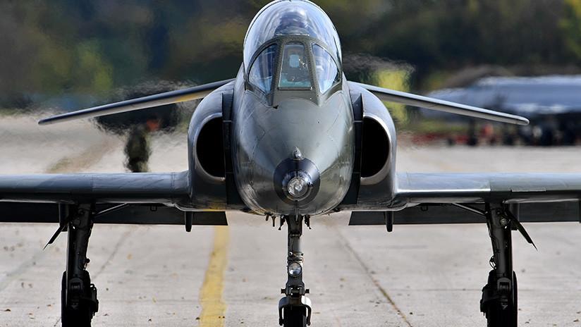 Muere un piloto al estrellarse un avión militar en Serbia
