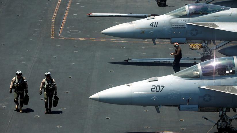 El grupo de ataque de la Marina de EE.UU. llegará al golfo pérsico en mayo