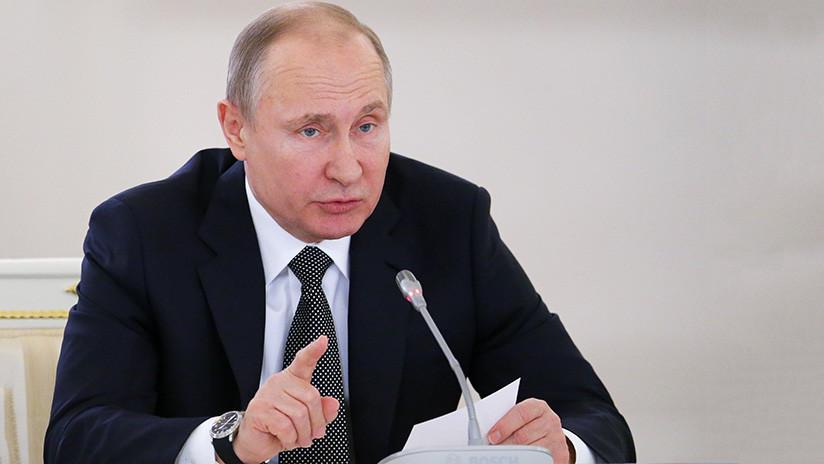 """Putin: """"Espero que el sentido común prevalezca en la arena internacional"""""""
