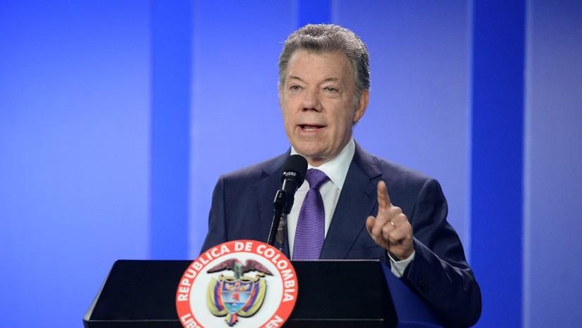 Santos se reunió con miembros del partido FARC tras la detención de Jesús Santrich