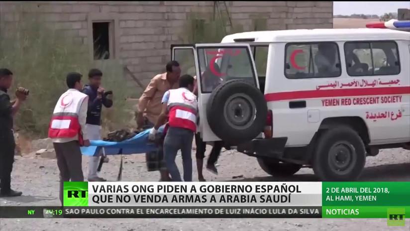 Varias ONG piden al Gobierno español que no venda armas a Arabia Saudita