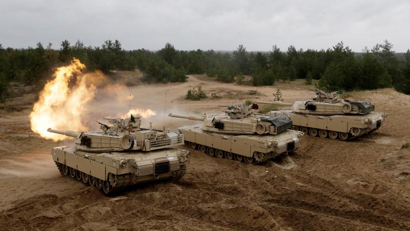 VIDEO: El Ejército de EE.UU. presenta un blindaje de espuma más fuerte y ligero que el acero