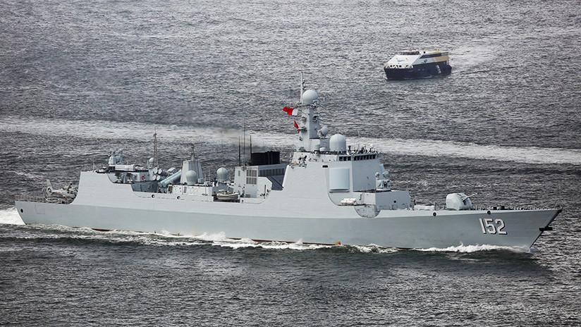 ¿Mensaje para EE.UU.? La doble demostración de fuerza de la Armada china