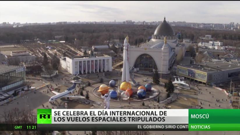 Moscú celebra el Día Internacional de los Vuelos Espaciales Tripulados