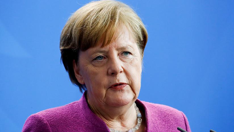 """Merkel: """"Alemania no tomará parte en posibles acciones militares contra Siria"""""""