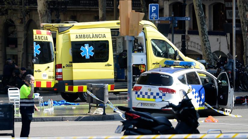 Un camión atropella a seis personas en Barcelona
