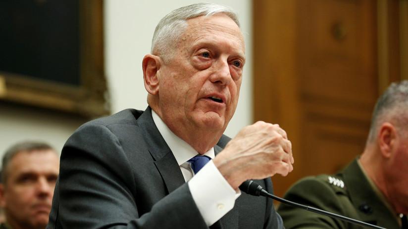 """Jefe del Pentágono: """"No debemos esperar a que estemos bajo ataque químico para atacar a Siria"""""""