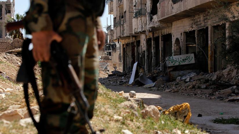 May coordinará con EE.UU. y Francia la respuesta de Reino Unido contra Siria