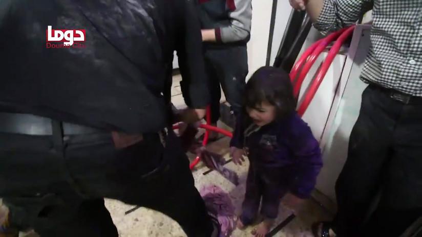 """""""Finge que no puedes respirar"""": Un sirio revela cómo Jaish al Islam orquestó un falso ataque químico"""