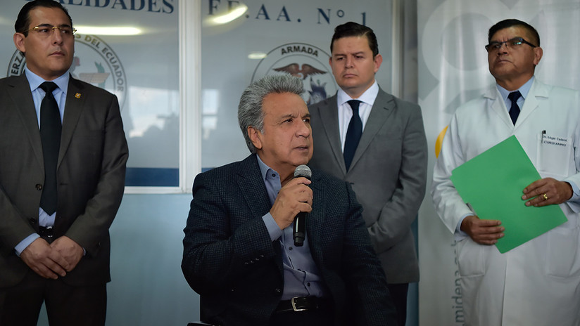 Lenin Moreno confirma asesinato de periodistas ecuatorianos en Colombia