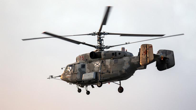 Dos muertos al estrellarse un helicóptero militar ruso en el mar Báltico