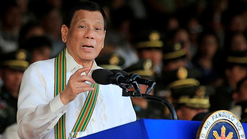 """""""Te arrestaré"""": Duterte amenaza a la fiscal general del tribunal penal de La Haya"""