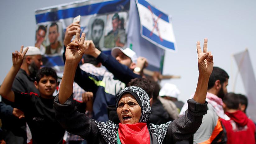 VIDEO: Un muerto y más de 150 heridos en las protestas de la Gran Marcha del Retorno en Gaza