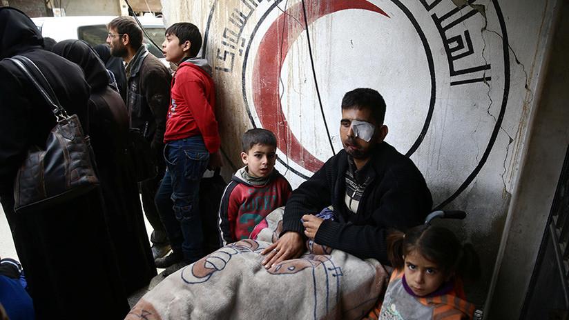 """Rusia: """"No se encontraron personas tratadas por intoxicación química en hospitales sirios"""""""