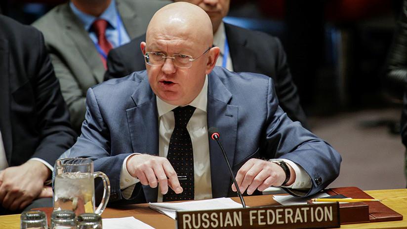 """Embajador ruso ante la ONU: """"Estamos centrados en la búsqueda de una solución pacífica en Siria"""""""