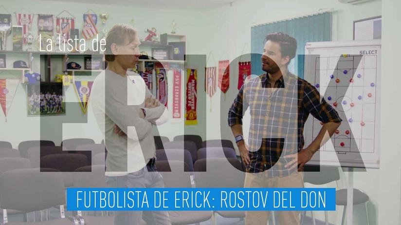 Futbolista de Erick: Rostov del Don