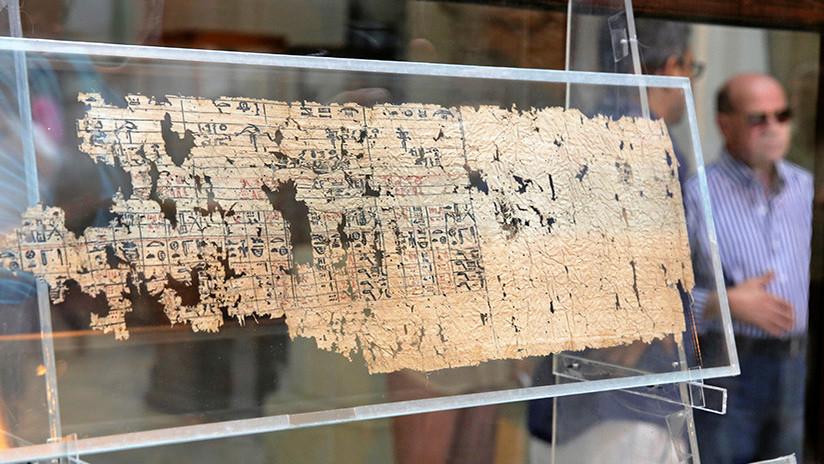 La primera denuncia por abuso sexual de la historia podría estar en este papiro egipcio