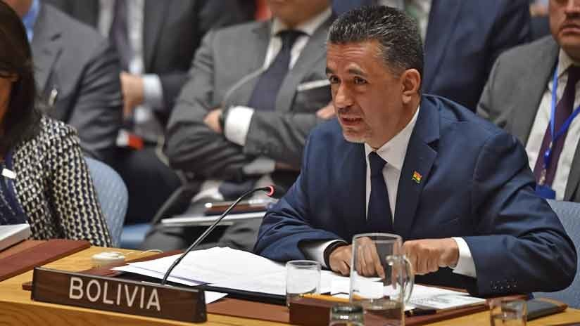 """Bolivia: """"El Consejo de Seguridad no debe ser un peón a sacrificar en el ajedrez de la guerra"""""""