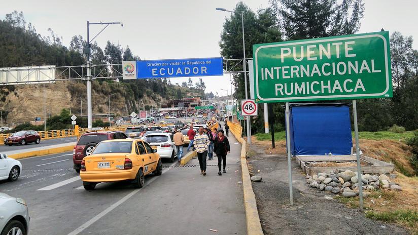 Tierra de nadie: Así es la frontera entre Ecuador y Colombia