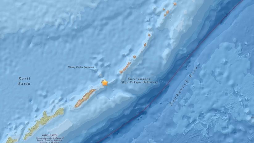 Un sismo de magnitud 5,0 sacude las islas Kuriles