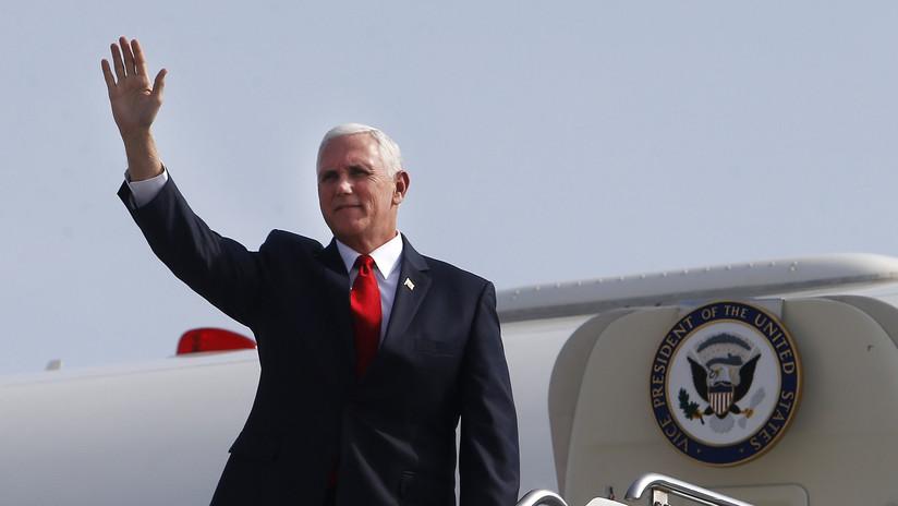 Vicepresidente de EE.UU. abandona Perú en medio de ataque a Siria