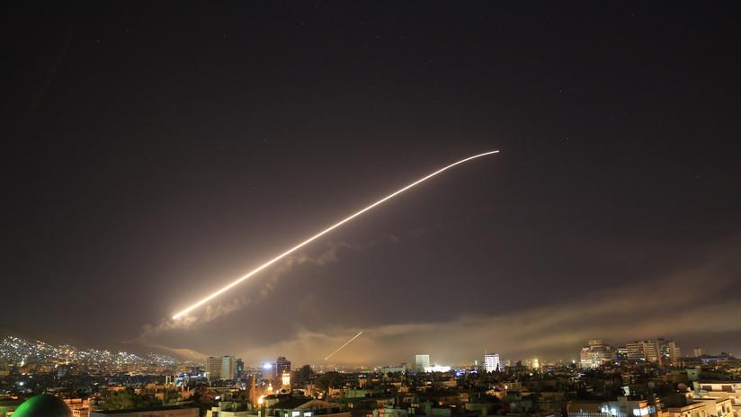 Sistemas antimisiles del Ejército sirio derriban 13 misiles de EE.UU. y sus aliados