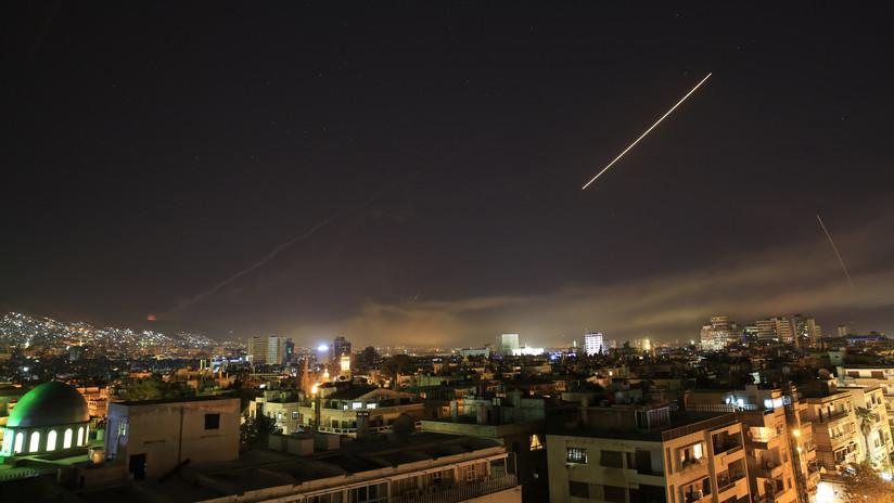 Se reportan fuertes explosiones en Damasco tras la orden de Trump de bombardear Siria