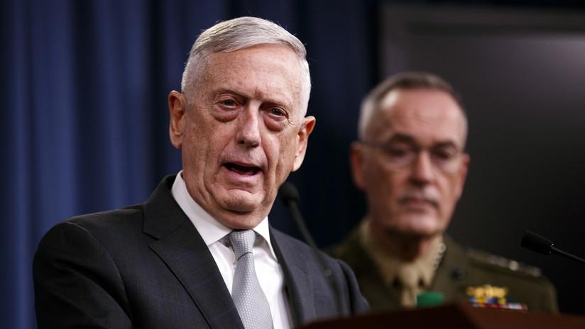 """Mattis sobre ataque a Siria: """"Esta vez usamos casi el doble de misiles que el año pasado"""""""