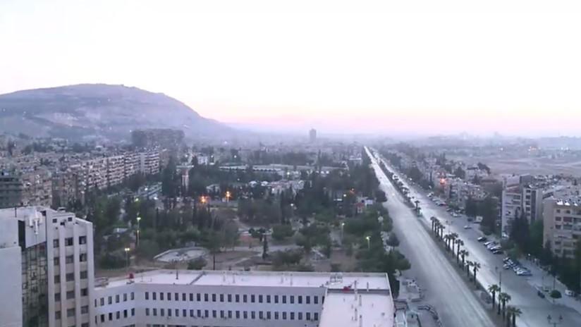 VIDEO: Así amaneció Damasco tras el ataque aéreo de EE.UU., Reino Unido y Francia