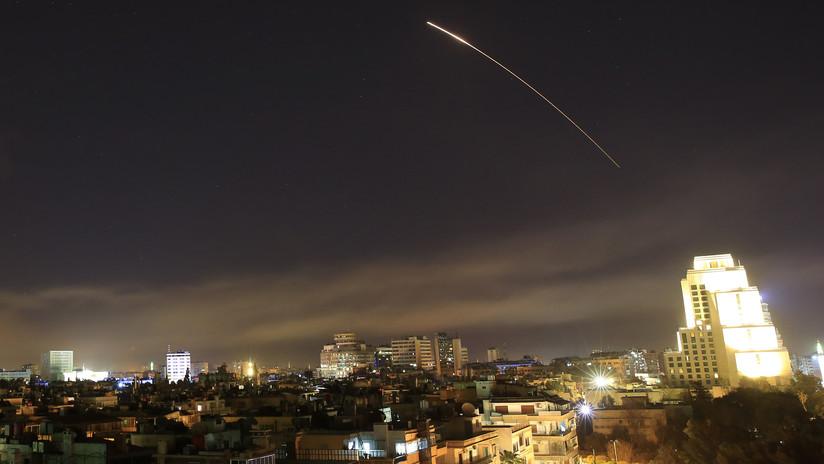 Ejército sirio: Unos 30 misiles fueron disparados durante el ataque, un tercio fue interceptado