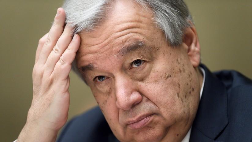 Guterres pide actuar conforme a la Carta de la ONU y el derecho internacional tras ataque en Siria
