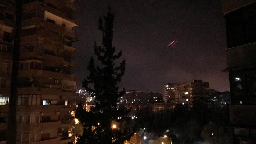 Ningún misil de los países occidentales entró en la zona de despliegue de Rusia en Siria