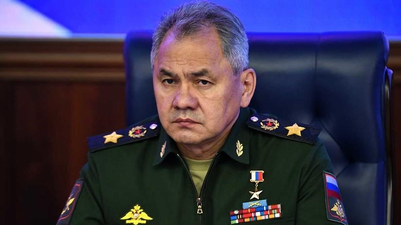 Ministro de Defensa ruso comunica a Putin todos los datos sobre la situación operativa en Siria