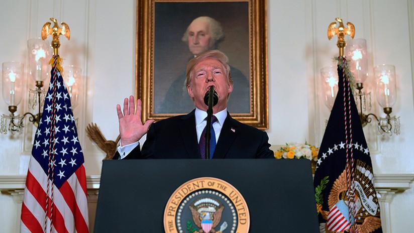 """""""¡Misión cumplida!"""": Trump aplaude el """"ataque perfectamente ejecutado"""" contra Siria"""