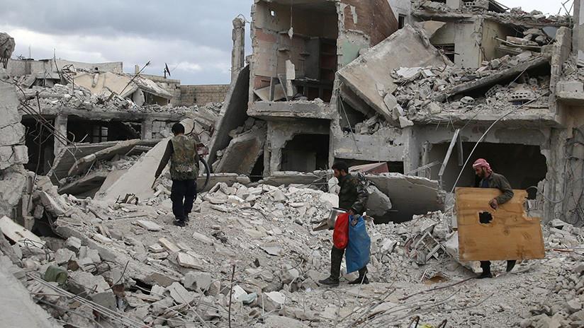 Miembros de la OPAQ llegan a Siria para investigar el supuesto ataque químico en Duma