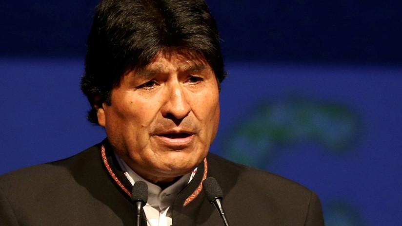"""Evo Morales: """"EE.UU. es la principal amenaza contra la paz, la democracia y la libertad"""""""