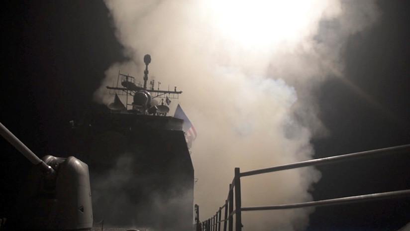 El Pentágono revela un video y fotos de los ataques contra Siria