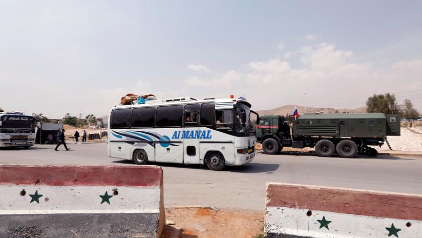 El Ejército sirio anuncia la liberación completa de Guta Oriental de terroristas
