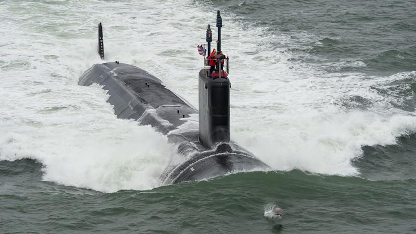 VIDEO: El momento exacto en que un submarino de EE.UU. lanza misiles Tomahawk contra Siria