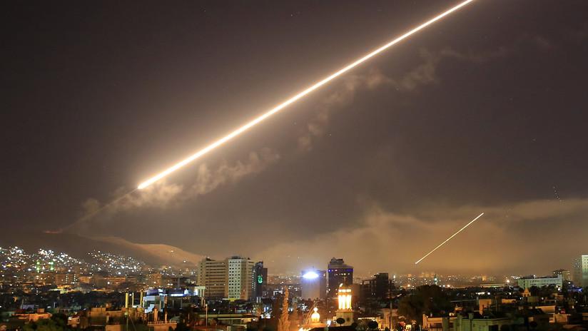 FOTOS: El arsenal que Estados Unidos, el Reino Unido y Francia emplearon para atacar a Siria