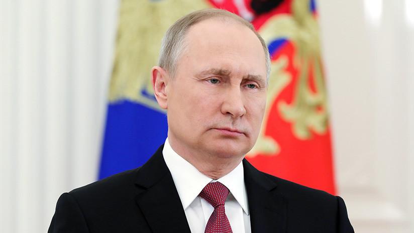 """Putin: """"Continuar con la violación de la Carta de la ONU conducirá al caos internacional"""""""