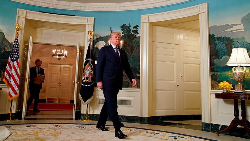 """""""Sabía que se aprovecharían"""": Trump responde a la polémica por su frase del ataque a Siria"""