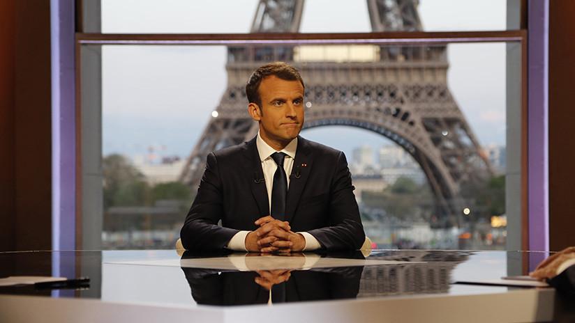 "Macron convence a Trump de ""permanecer en Siria a largo plazo"""