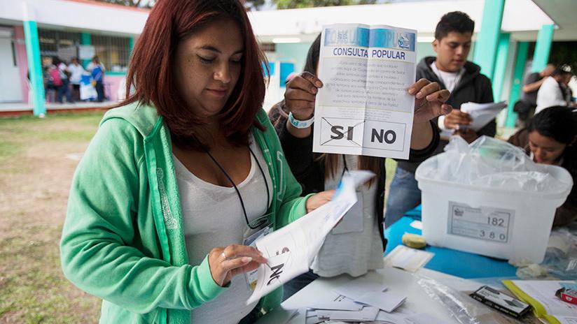 Referendo sobre Belice: Guatemaltecos votan 'sí' para que La Haya determine la disputa fronteriza
