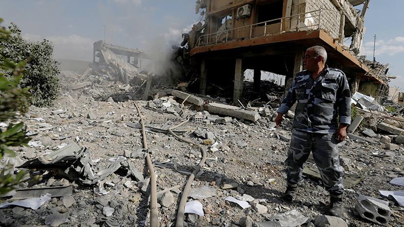 """Moscú: """"Occidente usa el concepto de """"intervención humanitaria"""" para justificar el ataque a Siria"""""""